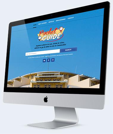 Directory Listings website Design Cambodia
