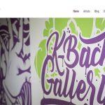 K-Bach Art Gallery Web Design