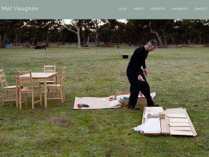 Web Design Australia Contemporary Artist