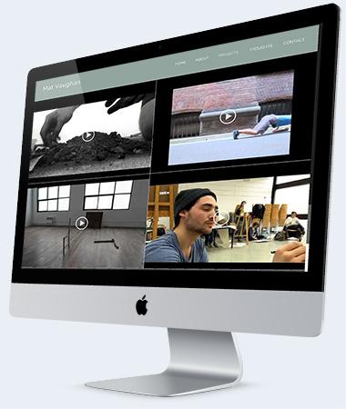 Web Design Contemporary Artist Australia
