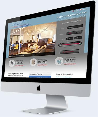 Website Development Real Estate Agent Phnom Penh